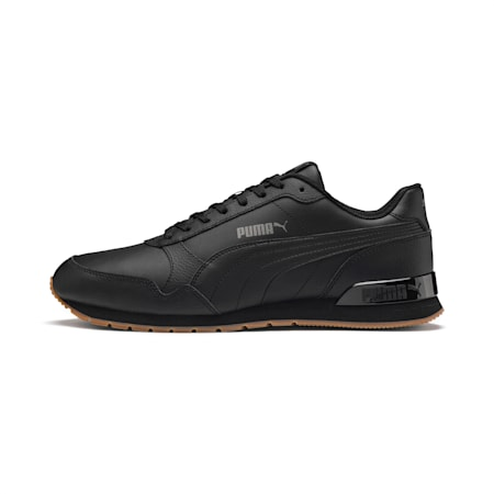 ST Runner v2 Trainers, Puma Black-CASTLEROCK, small