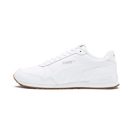 ST Runner v2 Sneakers, Puma White-Gray Violet, small-IND