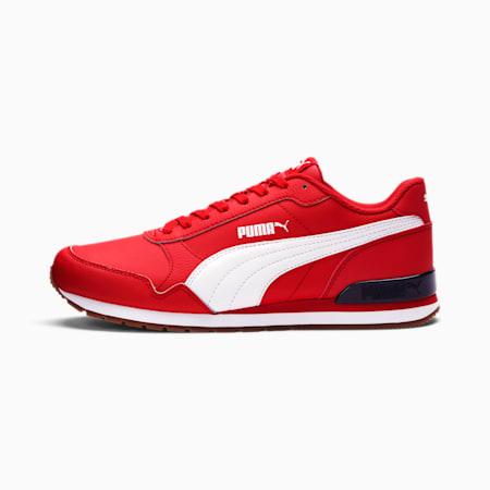 ST Runner v2 Sneakers, High Risk Red-Puma White, small