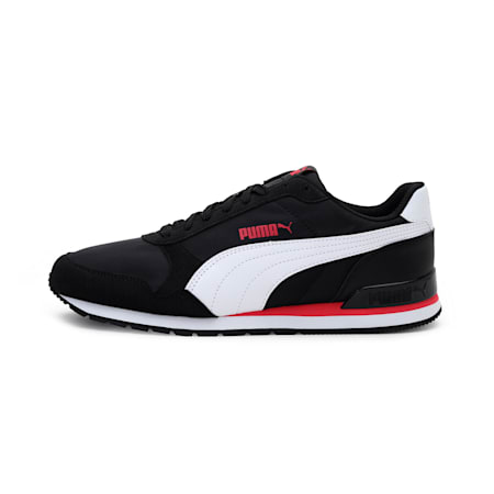 ST Runner v2 NL Sneakers, Puma Black-P. White-P. Pink, small-IND