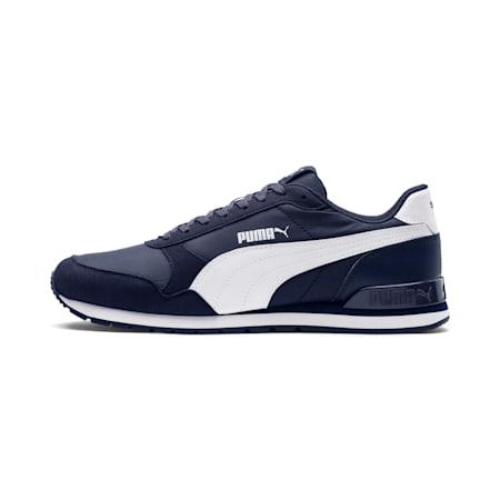 ST Runner v2 NL Sneakers, Peacoat-Puma White, small-IND