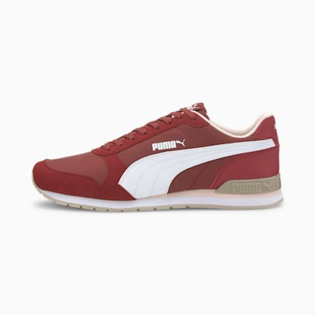 ST Runner V2 NL Unisex Sneakers, Burnt Russet-Puma White-Silver Cloud, small-IND