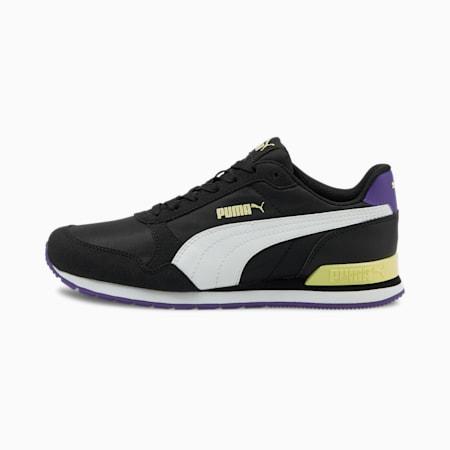 ST Runner V2 NL Unisex Sneakers, Black-White-YellowP-P Violet, small-IND