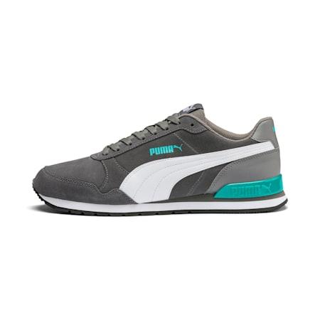 ST Runner v2 Suede Men's Sneakers, CASTLEROCK-Puma White, small