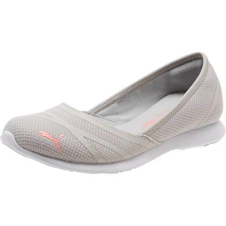 PUMA Vega Ballet Sweet Women's Shoe, Gray Violet-Peach Bud, small