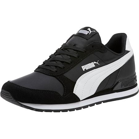 ST Runner v2 NL Sneakers JR, Puma Black-Puma White, small