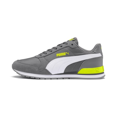 ST Runner v2 NL Jr Shoes, CASTLEROCK-Puma White, small-IND