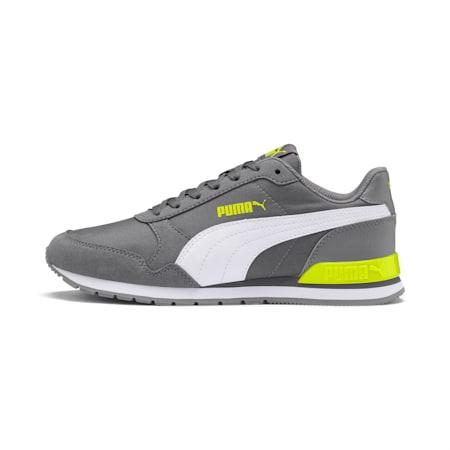 ST Runner v2 NL Sneakers JR, CASTLEROCK-Puma White, small-IND