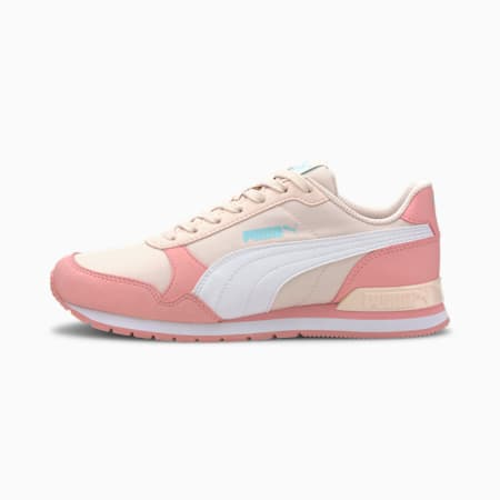 ST Runner v2 NL Sneakers JR, Rosewater-Peony-Puma White, small