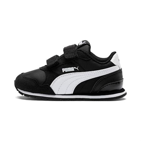 ST Runner v2 Little Kids' Shoes, Puma Black-Puma White, small