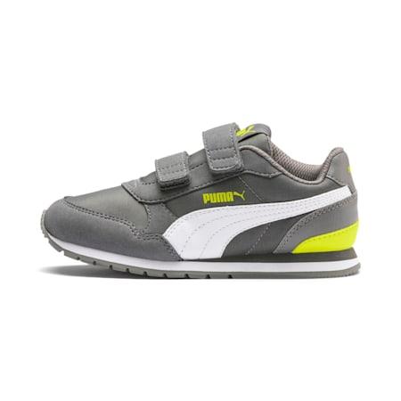 ST Runner v2 Kids' Shoes, CASTLEROCK-Puma White, small-IND