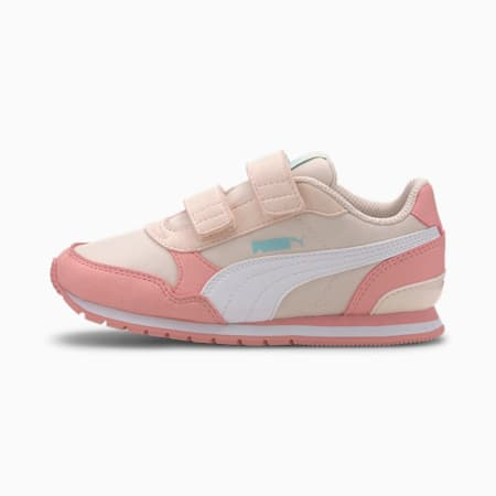 ST Runner v2 Little Kids' Shoes, Rosewater-Peony-Puma White, small