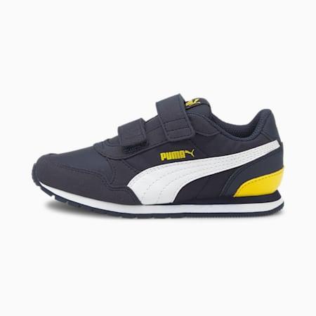 ZapatosST Runner v2 para niños, Peacoat-Puma White-Dandelion, pequeño