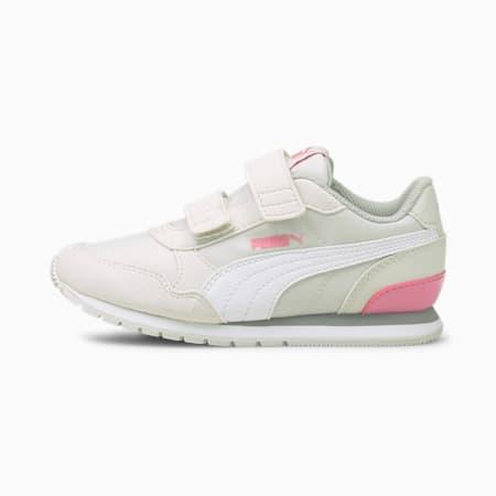ZapatosST Runner v2 para niños, Nimbus Cloud-Puma White-Sachet Pink, pequeño