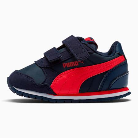 ST Runner V2 V Toddler Shoes, Peacoat-Ribbon Red, small
