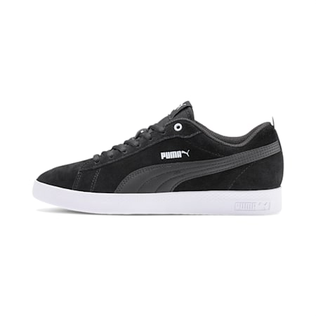 Smash v2 SD Women's Sneakers, Puma Black-Puma Black, small-IND