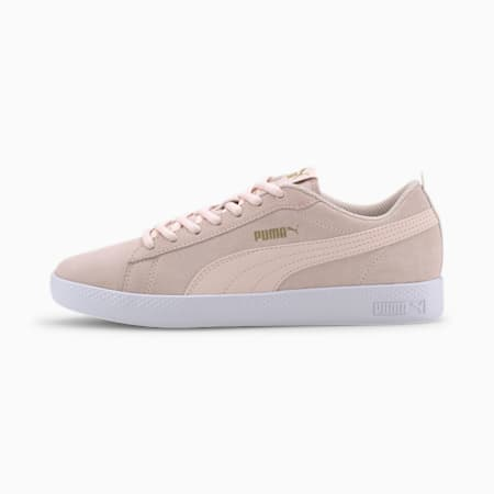 Smash v2 SD Women's Sneakers, Rosewater-PumaTeamGold-White, small-IND