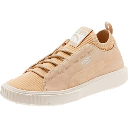 Breaker Knit Sunfaded Sneakers, Pebble-Whisper White, small