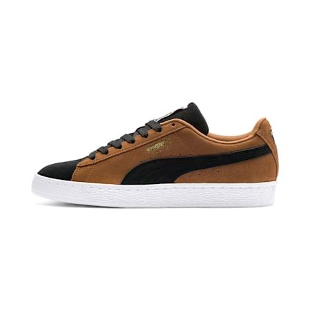 Suede Classic Men's Sneakers, Dachsund-Puma Black-P Wht, small