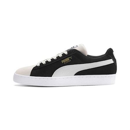 スウェード クラシック スニーカー, Puma Black-Puma White-P Wht, small-JPN