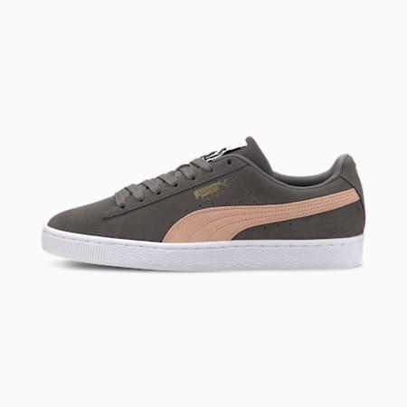 Suede Classic Men's Sneakers, CASTLEROCK-Pink Sand, small