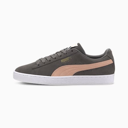 Suede Classic Sneakers, CASTLEROCK-Pink Sand, small