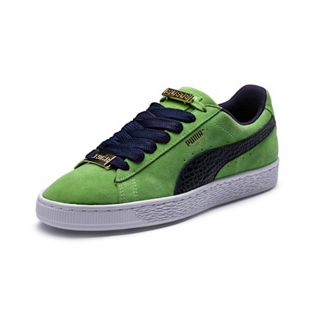 Suede Classic B-BOY Fabulous Shoes, Forest Green-Peacoat, small-IND
