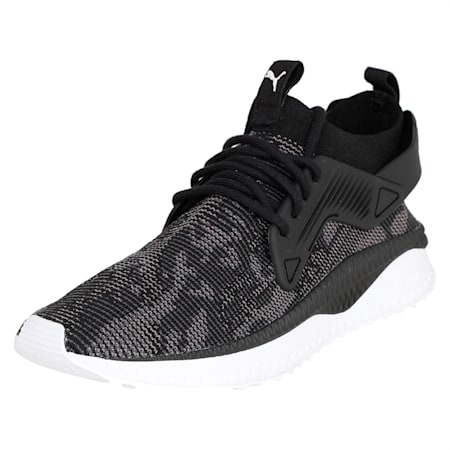 TSUGI Cage evoKNIT WF Shoes, Puma Black-Puma White-, small-IND