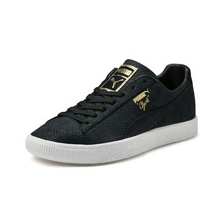 Clyde Euphoria Women's Sneakers, Black-Team Gold-Marshmallow, small