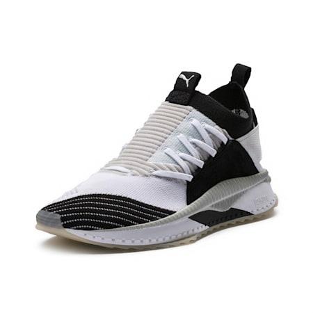 TSUGI JUN Cubism Sneakers, White-Black-Gray Violet, small