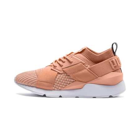 Muse evoKNIT Women's Shoes, Dusty Coral-Dusty Coral, small-IND