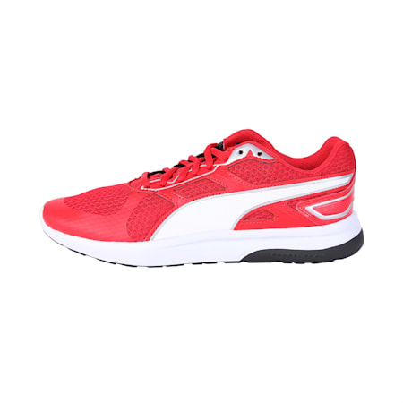 Escaper Tech Sneakers, Ribbon Red-Puma Wh-Puma Blk, small-IND
