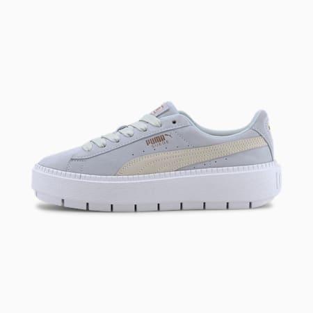 Zapatos deportivos Platform Trace para mujer, Plein Air-Whisper White, pequeño