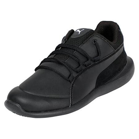Scuderia Ferrari Evo Cat Jr Shoes, Puma Black-Puma Black, small-IND