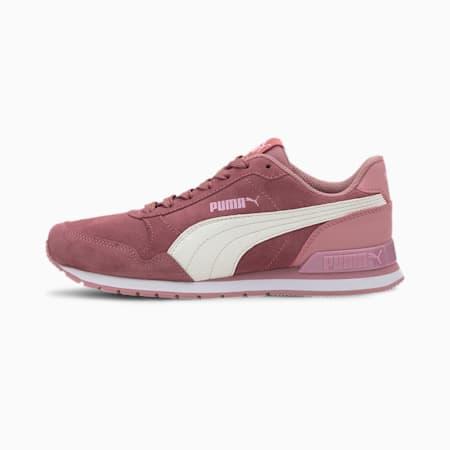 ST Runner v2 Suede Sneakers JR, Foxglove-Whisper White-PPink, small