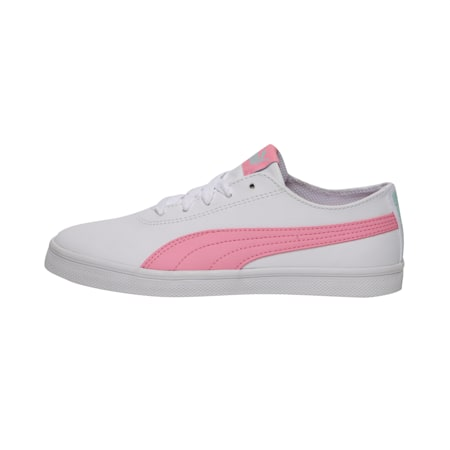 Urban SL Youth Shoes, Puma White-Pale Pink, small-IND