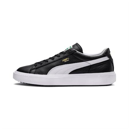 Breaker Leather Shoes, Puma Black-Puma White, small-IND