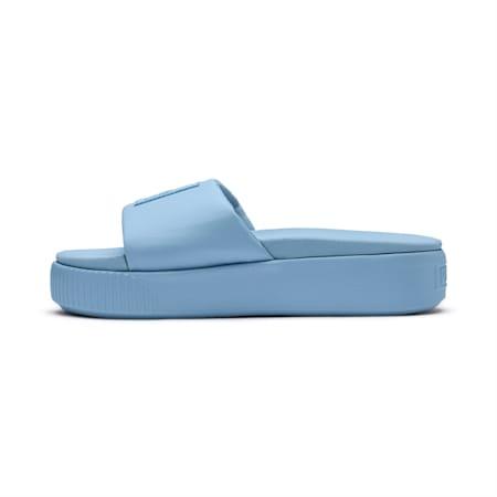 Platform Slide Women's Sandals, CERULEAN-Peacoat, small