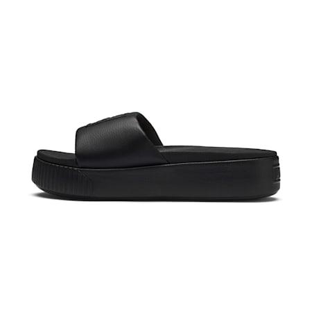 Platform Slide Women's Sandals, Puma Black-Puma Black, small-SEA