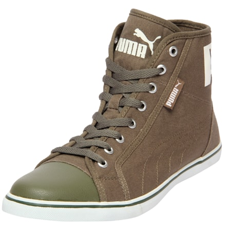 Streetballer Mid IDP  Sneakers, Olive Night-Puma White, small-IND