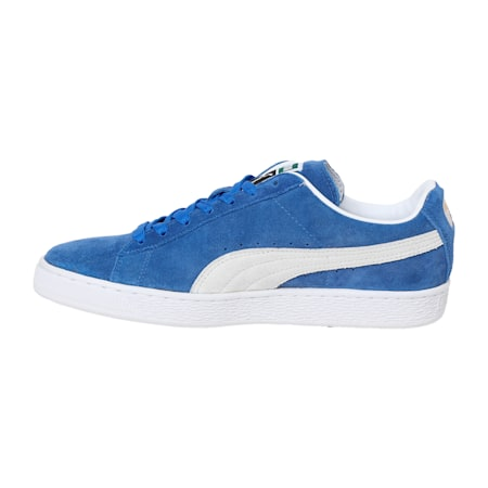 Suede Classic + IDP  Sneakers, Olympian Blue-Puma White, small-IND
