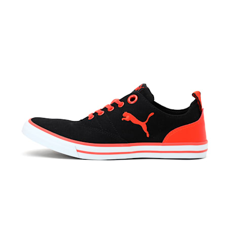 Slyde NU IDP Sneakers, Puma Black-Cherry Tomato, small-IND