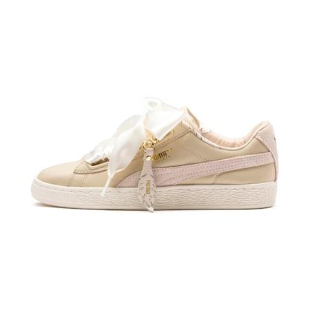 Basket Heart Coach Women's Shoes, Semolina, small-IND