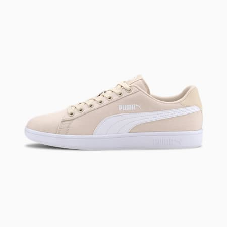PUMA Smash v2 Trainers, Tapioca-Puma White, small