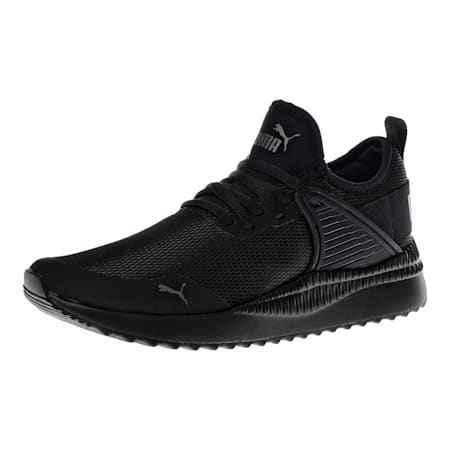 Pacer Next Cage Sneakers JR, Puma Black-Puma Black, small