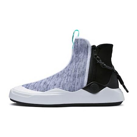 PUMA x DIAMOND Abyss Knit Sneakers, Puma White-Puma Black, small