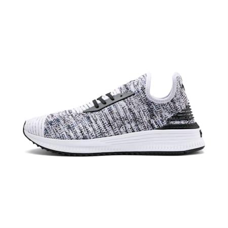 AVID evoKNIT Mosaic Evolution Shoes, PWhite-PBlack-Sodalite Blue, small-IND