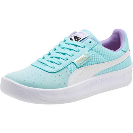 California Casual Sneakers, Island Paradise-P Wht-P Wht, small