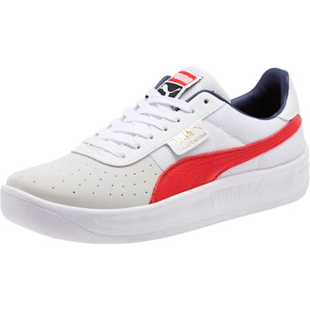 California Casual Sneakers, P White-RibbonRed-P White, small