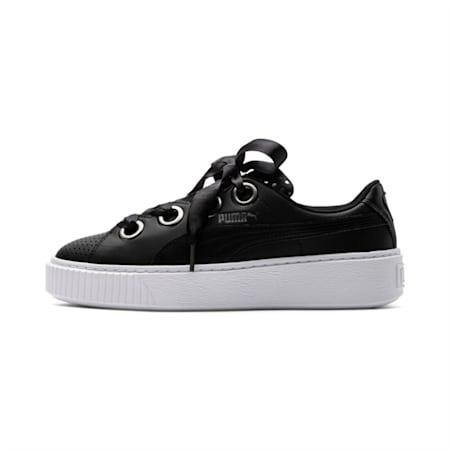 Platform Kiss Ath Lux Women's Shoes, Puma Black-Puma Black, small-IND